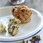 Naadimuffinid 2 juustu ja Kreeka pähklitega
