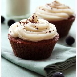 Šokolaadi-mustsõstra cupcake'id