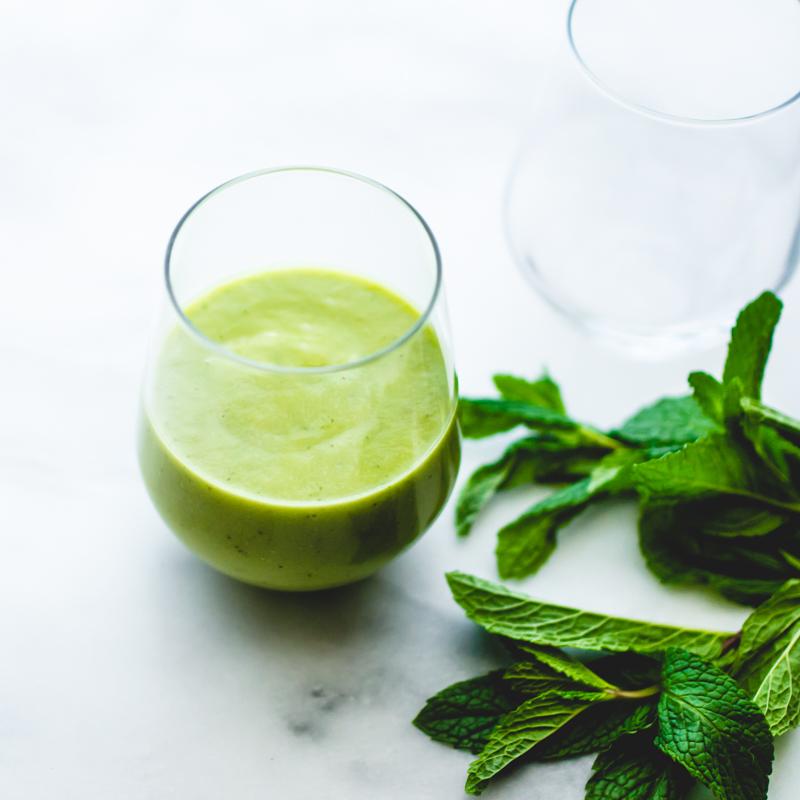 avocado smoothie with cucumber